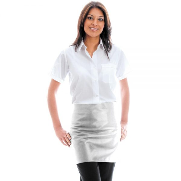 245gsm Bar Apron without Pocket - WAPA04-white