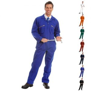 280gsm Heavyweight Zip Front Coverall with Knee-Pad Pockets - WBSA01-main