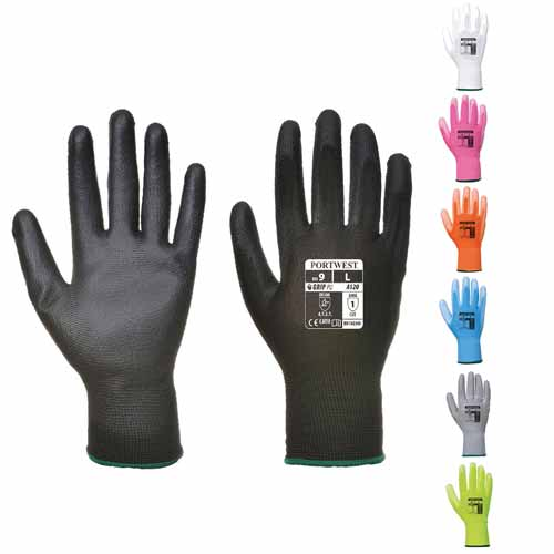 High Dexterity PU Palm Glove - WGLA120