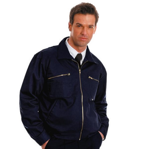 280gsm Heavyweight Drivers Jacket - WJAA30-navy