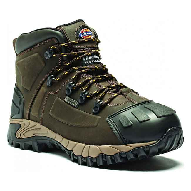 Medway Water Resistant Safety Boot S3 - WSFA23310 - brown