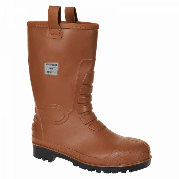 Steelite Neptune Rigger Safety Boots S5 - WSFA75-tan