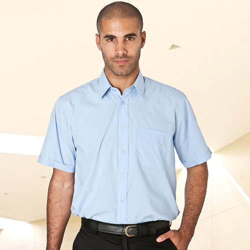 PC Shirt Short-Sleeve-WSHA02-sky