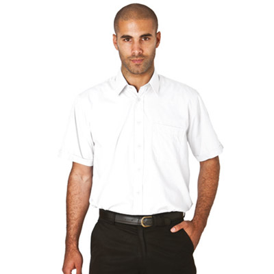 PC Shirt Short-Sleeve-WSHA02-white