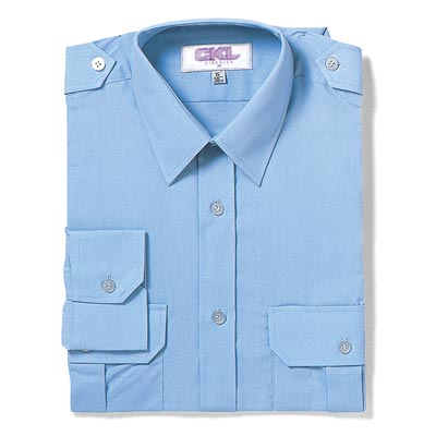 PILOT Shirt Long-Sleeve-WSHA03-blue