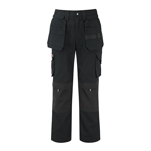320g 'Extreme' Work PC Canvas Trousers - WTRA700-black