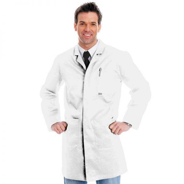 280gsm Heavyweight Warehouse Coat - WWCA03-white