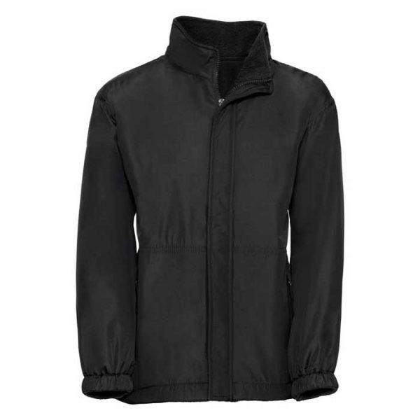 Kids Heavy Reversible Fleece - JFK875-black-poly
