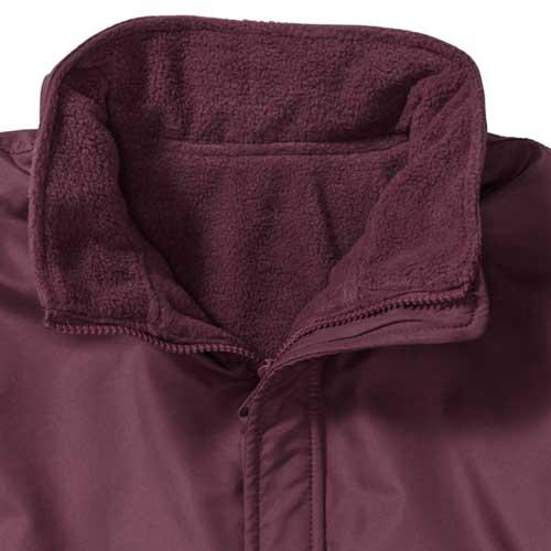 Kids Heavy Reversible Fleece - JFK875-burgundy