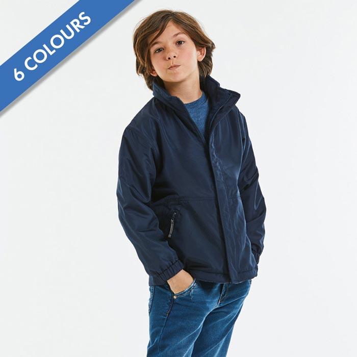 Kids Heavy Reversible Fleece - JFK875