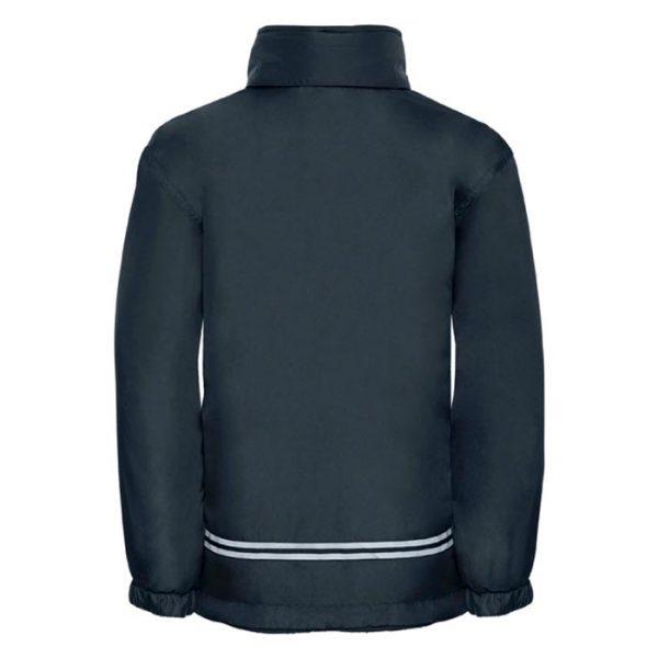 Kids Heavy Reversible Fleece - JFK875-navy-poly-back