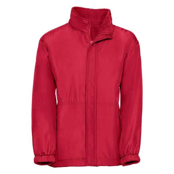 Kids Heavy Reversible Fleece - JFK875-red-poly