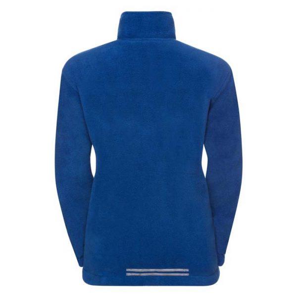 Kids Heavy Reversible Fleece - JFK875-royal-fleece-back