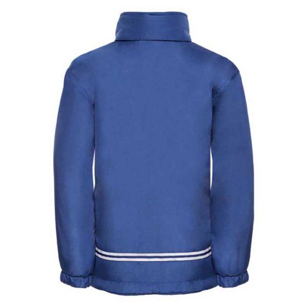 Kids Heavy Reversible Fleece - JFK875-royal-poly-back