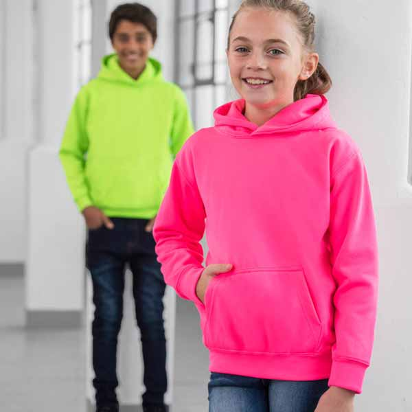 Kids Just Hoods Electric Hoodie - JH004B-main