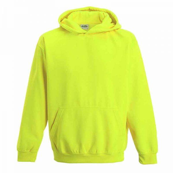 Kids Just Hoods Electric Hoodie - JH004B-yellow