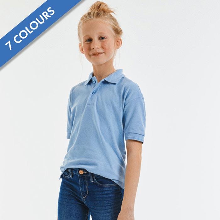 Kids Hardwearing PC Polo - JPK599
