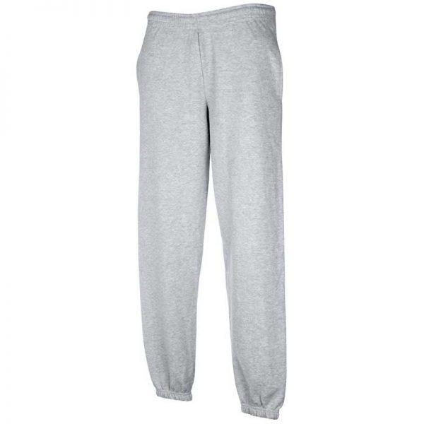 280gsm 80/20 CP Classic Elasticated Cuff Jog Pants - SJA-grey