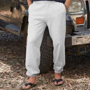 280gsm 80/20 CP Classic Elasticated Cuff Jog Pants - SJA