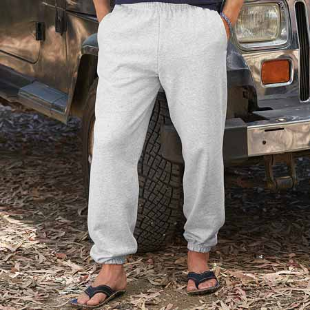 280gsm 80/20 CP Classic Elasticated Cuff Jog Pants - SJA