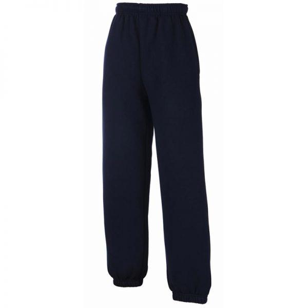280g 80/80 CP Kids Classic Elasticated Cuff Jog Pants - SJK-64-051-deep-navy