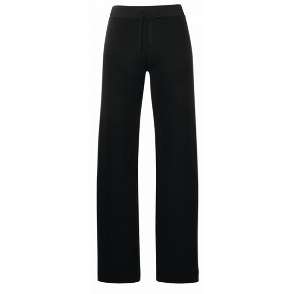 280g 70/30 CP Lady-Fit Open Hem Jog Pants - SJL-black