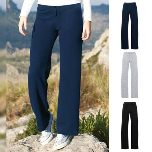280g 70/30 CP Lady-Fit Open Hem Jog Pants - SJL