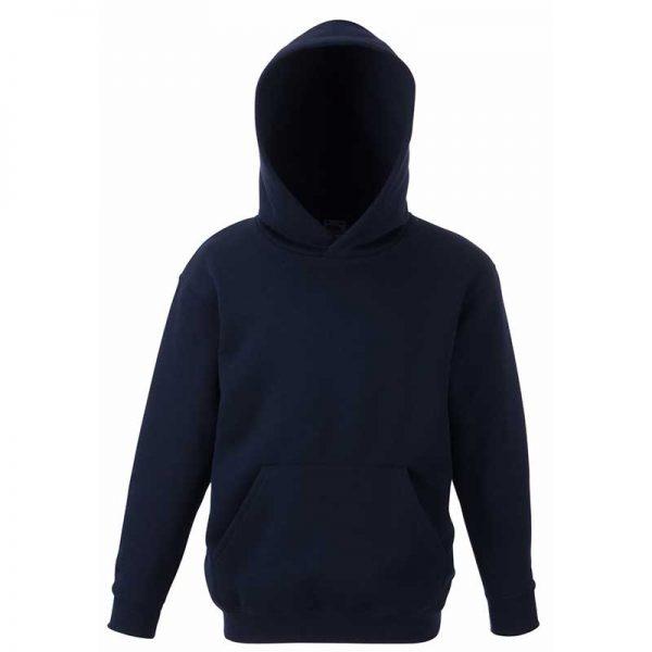 Kids Set-In Hooded Sweatshirt - SSHK-navy
