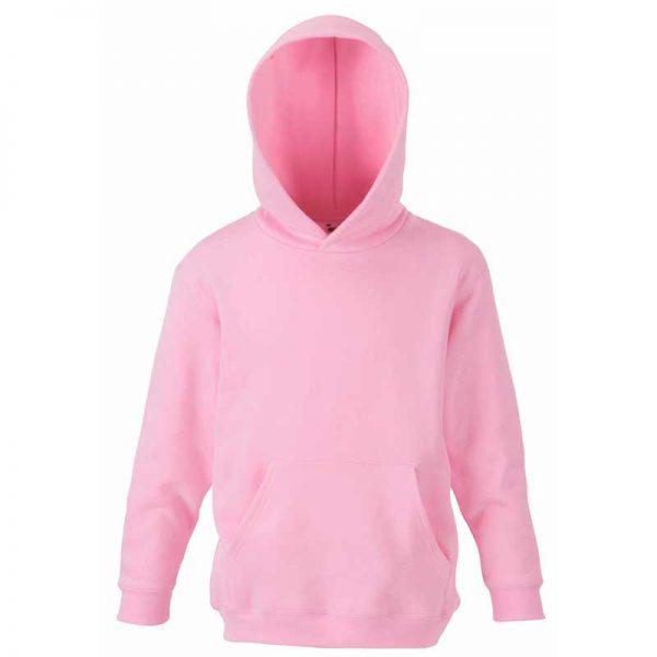 Kids Set-In Hooded Sweatshirt - SSHK-pink