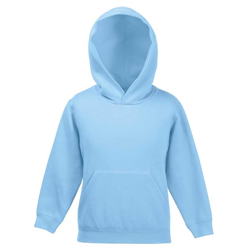 Kids Set-In Hooded Sweatshirt - SSHK-sky