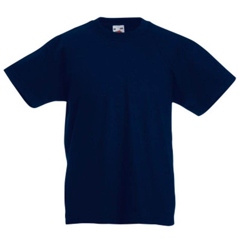 Kids & Toddlers Valueweight Crew T-Shirt - STVK-deep-navy