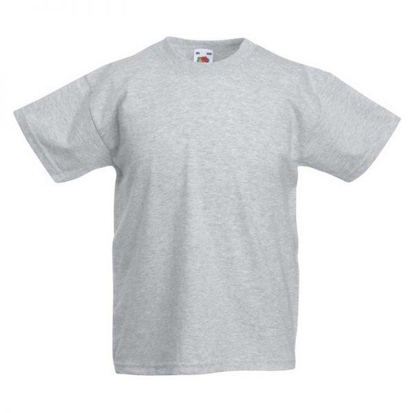 Kids & Toddlers Valueweight Crew T-Shirt - STVK-heather-grey