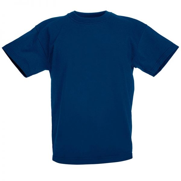 Kids & Toddlers Valueweight Crew T-Shirt - STVK-navy