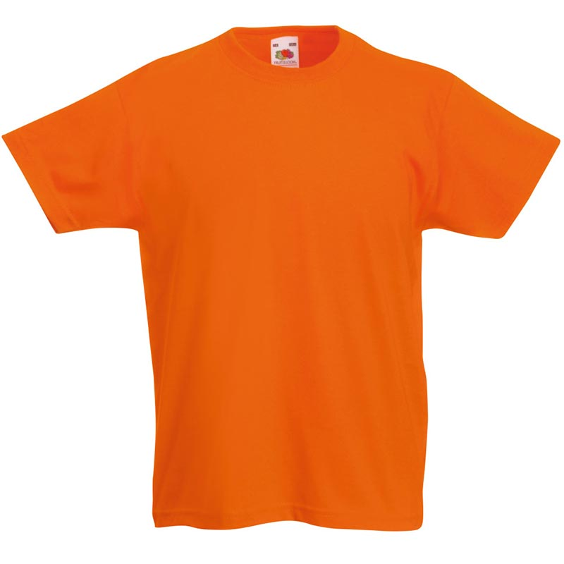 Kids & Toddlers Valueweight Crew T-Shirt - STVK-orange