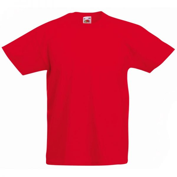 Kids & Toddlers Valueweight Crew T-Shirt - STVK-red