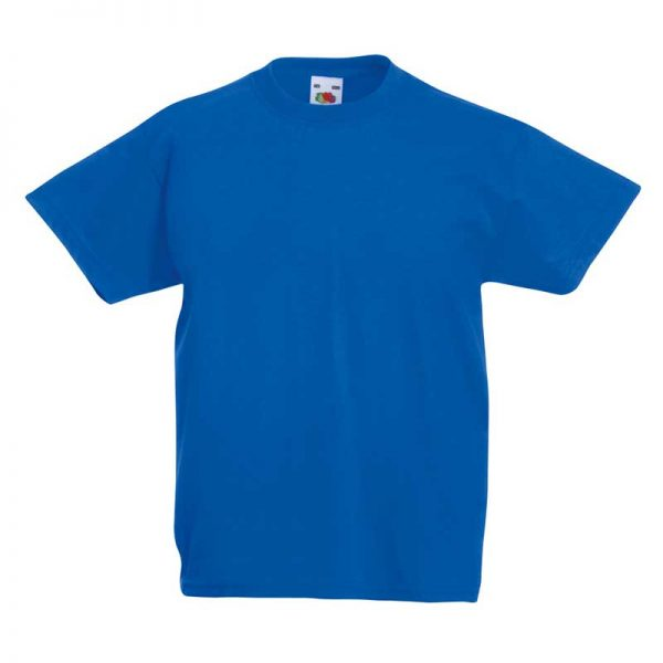 Kids & Toddlers Valueweight Crew T-Shirt - STVK-royal