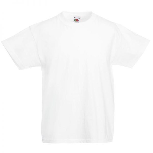 Kids & Toddlers Valueweight Crew T-Shirt - STVK-white
