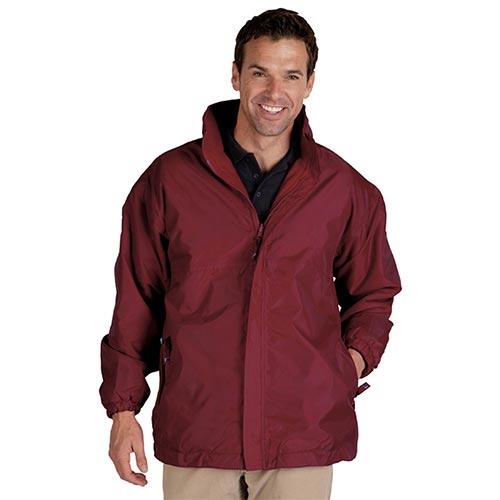 Reversible Waterproof Jacket-TFA05-burgundy