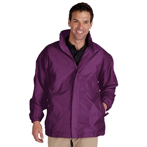 Reversible Waterproof Jacket-TFA05-purple
