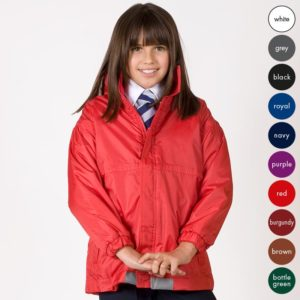 Kids Reversible Waterproof Jacket TFK05