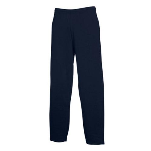 Kids Open Bottom Jog Pants-TJK02-navy