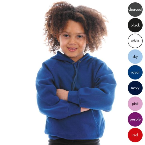 Kids Premium Hooded Raglan Sweatshirt TSK04