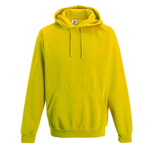 Kids Illuminous Hooded Raglan Sweatshirt - TSK08-yellow