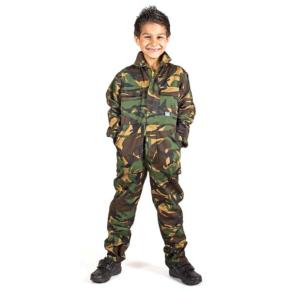 Tearaway Junior Coverall - WBSK333-camo