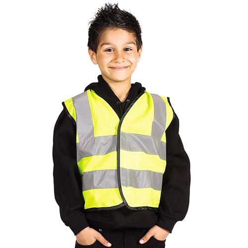 Kids Hi-Vis Vest Double Banded-WWCK02