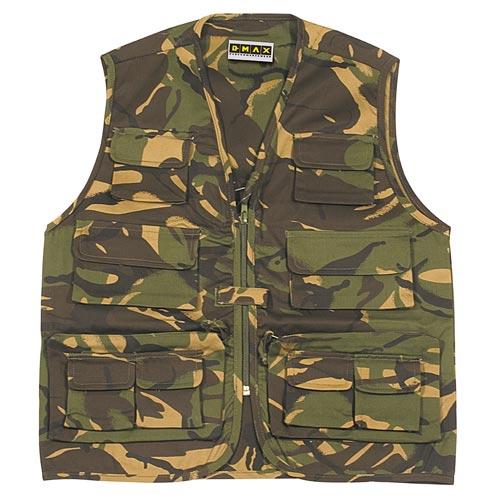 Kids Multi-Pocket Combat Waistcoat-WWCK20