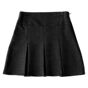 Girls 6-Pleat School Skirt - Secondary CSKG05