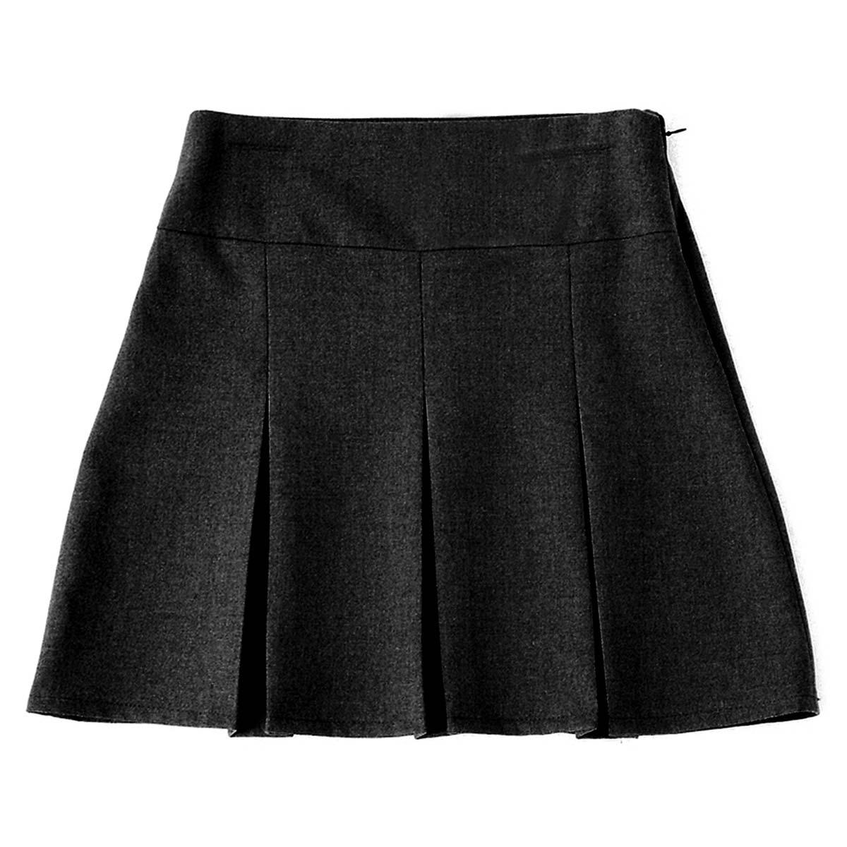 Girls 6-Pleat School Skirt - Secondary CSKG05