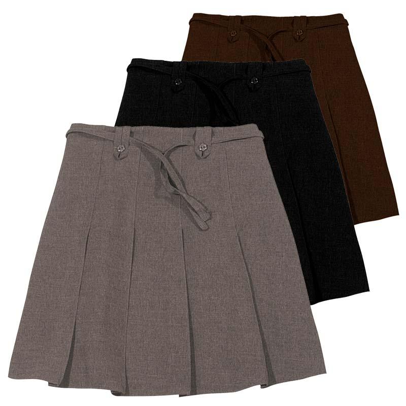 Girls Knife Pleat Ribbon Skirt - Primary CSKG11