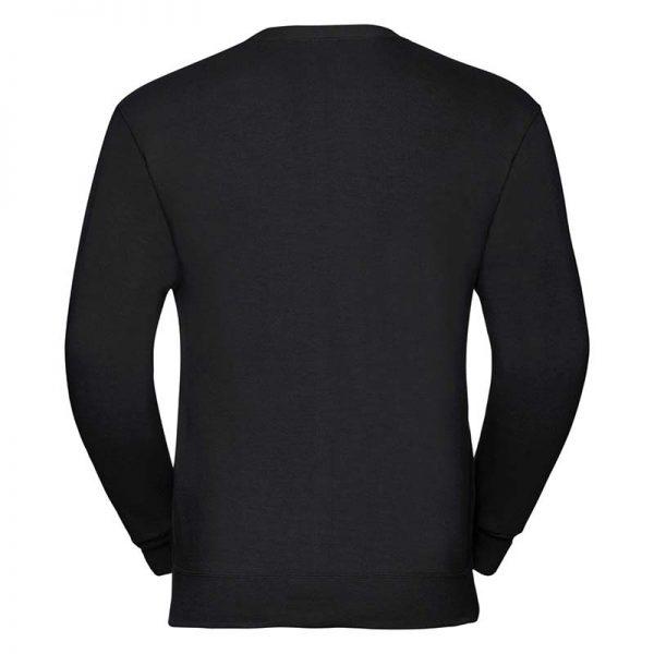 295gsm 50/50 PC Sweatshirt Cardigan - JCAA273-black-back